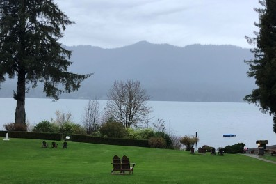 Lovely view of Lake Quinault.