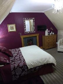 Kristen's suite in plum