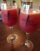 Blood orange mimosas!