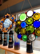 You can do cool things with old wine bottles!