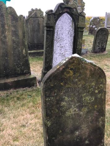 Tombstones of St. Magnus kirkyard
