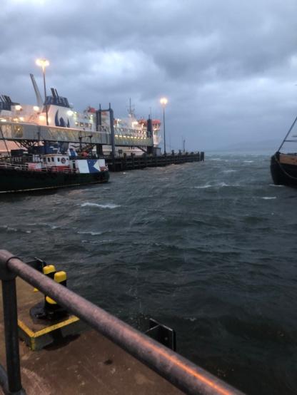 Stormy Stromness
