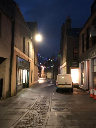 Lonely, but cheerful streets of Stromness