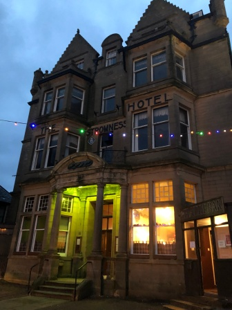 The lovely old Stromness Hotel (Photo credit: K. Spoor)