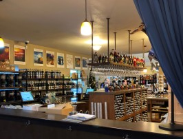 The tasting room at Westport Winery