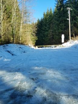 Mountain Loop Highway shenanigans. Perhaps it's time to turn around... (Photo credit: B. Skoczen)