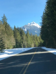 The Mt Loop Highway - in the Darrington area.