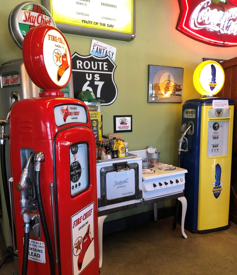 Great nostalgia everywhere at Nutty's