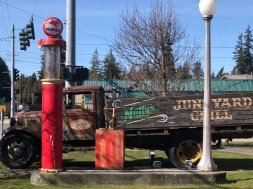 The quirky, cool Nutty's Junkyard Grill