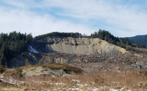 The devastating Oso Slide from 2014 (Photo credit: B. Skoczen)