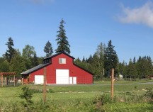 Red barns - old and new!