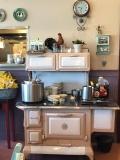 They've modernized their kitchen a bit...