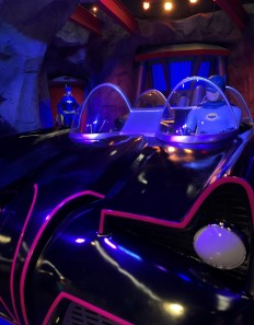You could sit in the Batmobile!