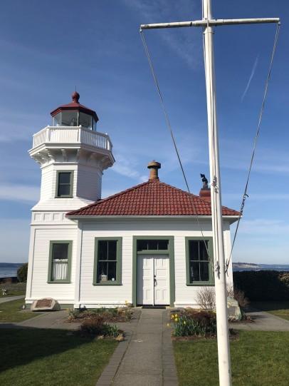 The iconic Mukilteo Light Station