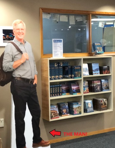 The travel god, himself: RICK STEVES!