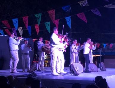Saturday evening concert in the public square
