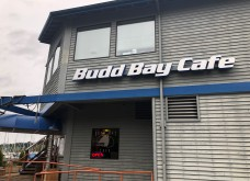 Budd Bay Cafe - right on the water!