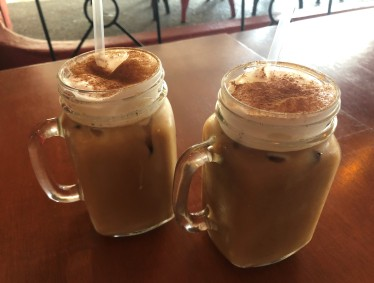 Delicious iced coffee. Yes, please!