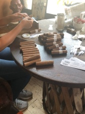 Cigars aren't my thing, but they roll them right in the store!