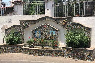 Beautiful mosaics around town