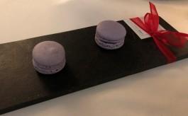 Delicious lavender macrons