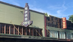 The classic Spar Cafe in downtown Olympia