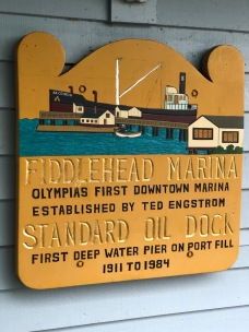 Fiddlehead Marina has been a fixture in Olympia for quite a while!