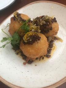 Delicious cod fritters
