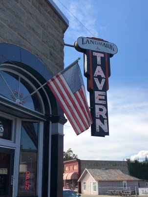 The Landmark Tavern in downtown Tenino
