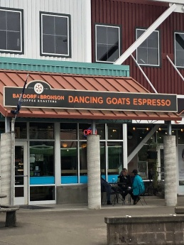 Dancing Goat Espresso across from the market