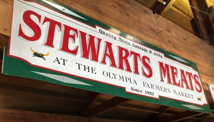 Delicious meats to be found at Stewarts!