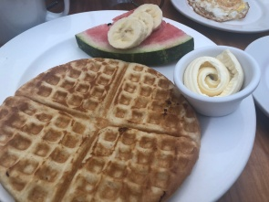 They've got waffles, too!