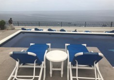 A lovely rooftop pool