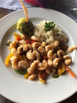 A very delicious shrimp dish