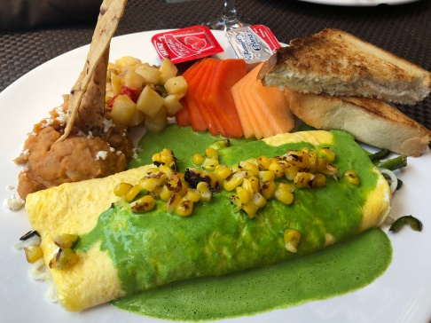 I got this poblano omelet last time - and I will likely get it next time! SO delicious.