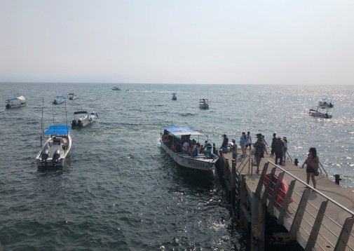 All aboard for Yelapa!