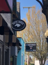 The White Horse Tavern and Masonry Cafe in historic downtown Yelm