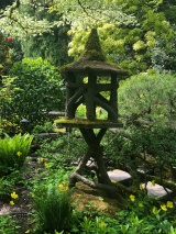 Beautiful pagoda in the Japanese Gardens