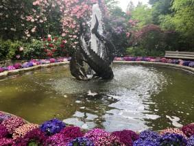 Sea Serpent fountain