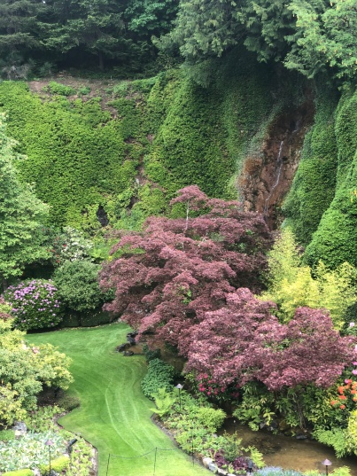 Waterfalls, native plants and more grace the Sunken Gardens