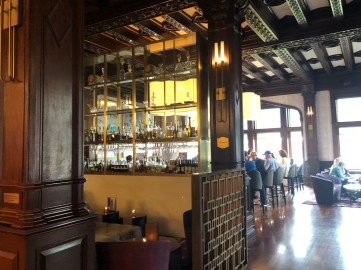 A great lounge area inside the Empress