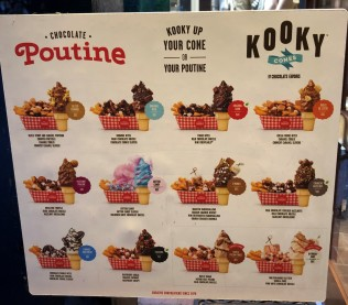 Kooky up your cone or your POUTINE!