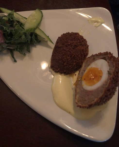 SCOTCH EGG FOR THE WIN!!
