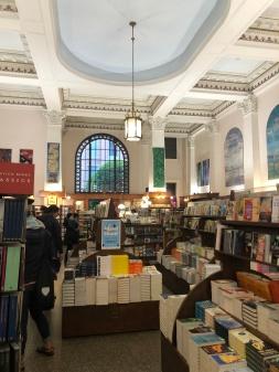 Inside the lovely Munro's Books