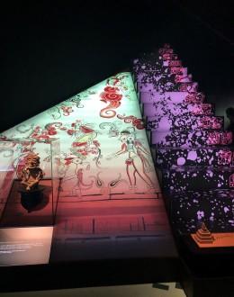 Very unique displays at the Maya exhibit