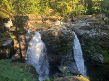 Upper part of Nooksack Falls