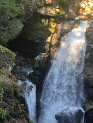 Hidden spots near Nooksack Falls