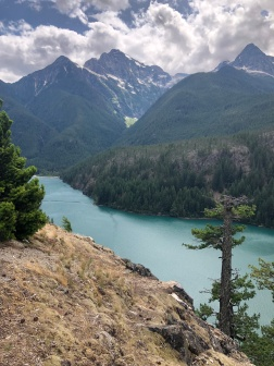 The gorgeous Thunder Arm portion of Diablo Lake
