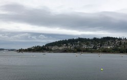 Looking over to Fairhaven from the Bellingham Cruise Terminal