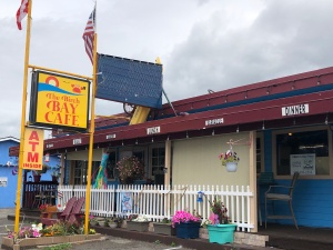 Breakfast, lunch and dinner at the Birch Bay Cafe